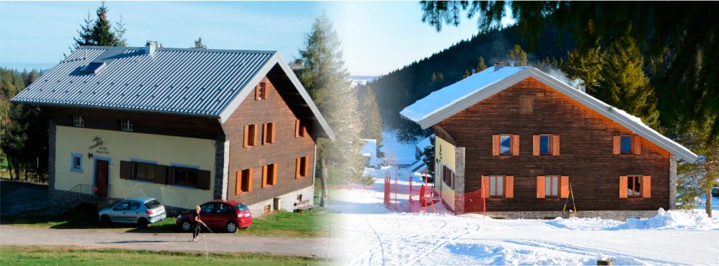 chalet du Ski club Hohneck, hébergement en refuge au Gaschney