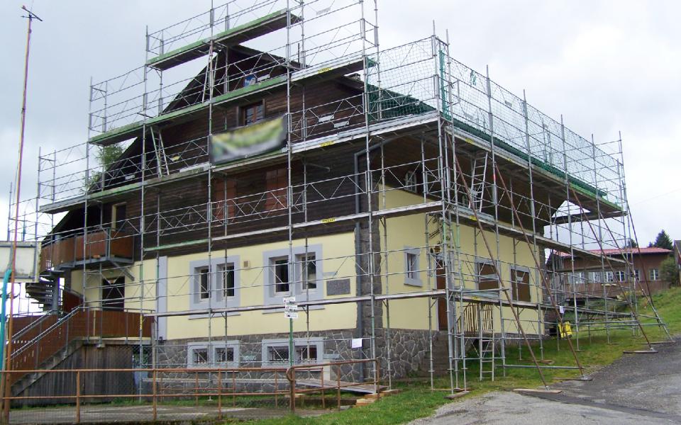 rénovation de la toiture en 2014