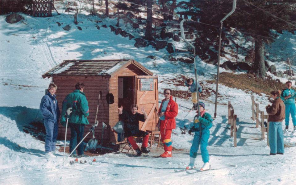 téléski école, années 80