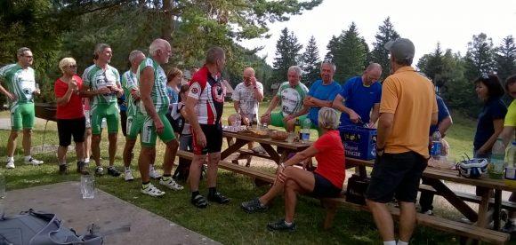 Le Gaschney en vélo : les retraités venus en force