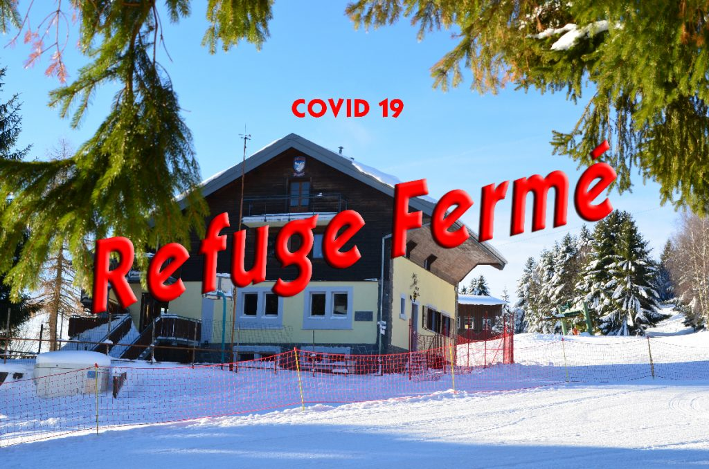 fermeture refuge cause COVID19